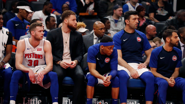 san francisco 48646 0cae6 Detroit Pistons: Blake Griffin's impact goes beyond stats