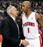 The relationship between former Pistons coach Larry Brown and point guard Chauncey Billups flourished after an initial period of tough love.