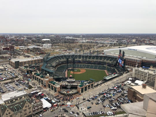 Comerica Park will be pretty empty this season, with no fans allowed for Tigers games.