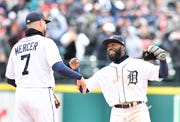 """If anybody's shocked, it's going to be outside this clubhouse,"" says second baseman Josh Harrison about the Tigers' 5-3 start."