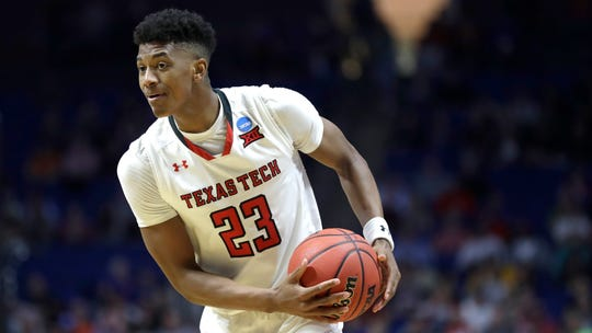 Texas Tech's Jarrett Culver is averaging 18.9 points, 6.4rebounds and 3.8 assists per game and was named the West Region Most Outstanding Player after averaging 21.5 points, 6.8 rebounds and 4.5 assist per game.