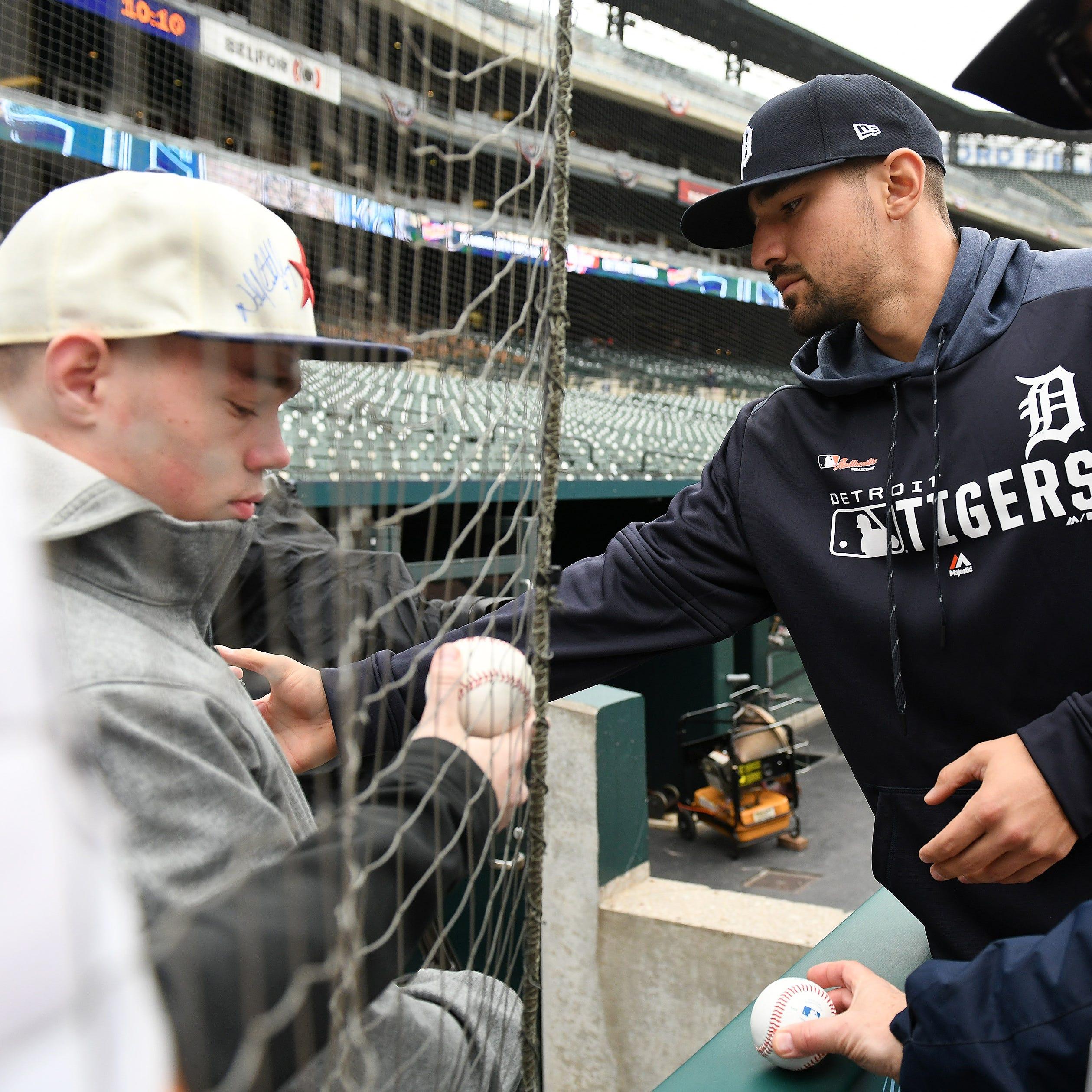 Tigers home opener live: 'It's a great party!'