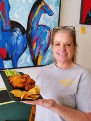 Chef Mary Alicia Dennis of MaryScott's Kitchen.