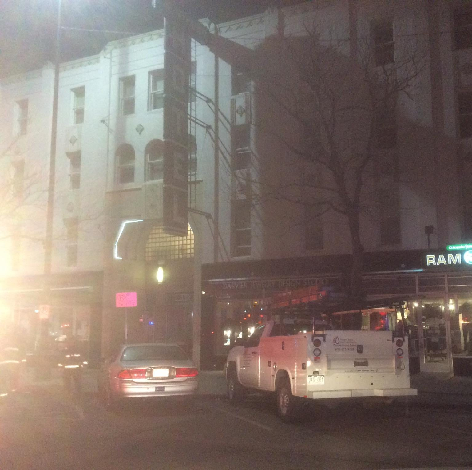 Residents return to Northern Hotel after early morning fire Thursday