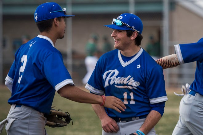 The Poudre baseball team hosts Rocky Mountain at 11 a.m. Saturday.