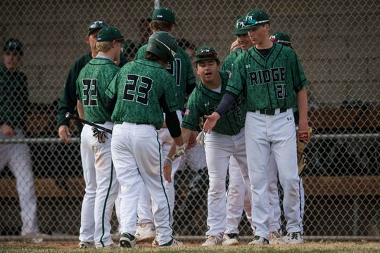 The Fossil Ridge baseball team hosts Fort Collins at 11 a.m. Saturday.