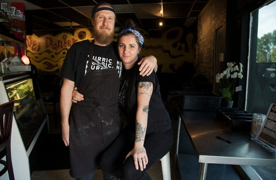 Greg Gebhard and his wife, Jovana Batkovic, opened Nice Guys in Cape Coral in July 2013.