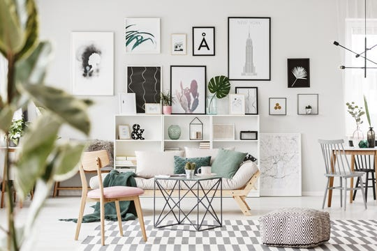 Splurge where it counts – good quality furniture and art – and save on trendy pieces that you will want to change out over the years.