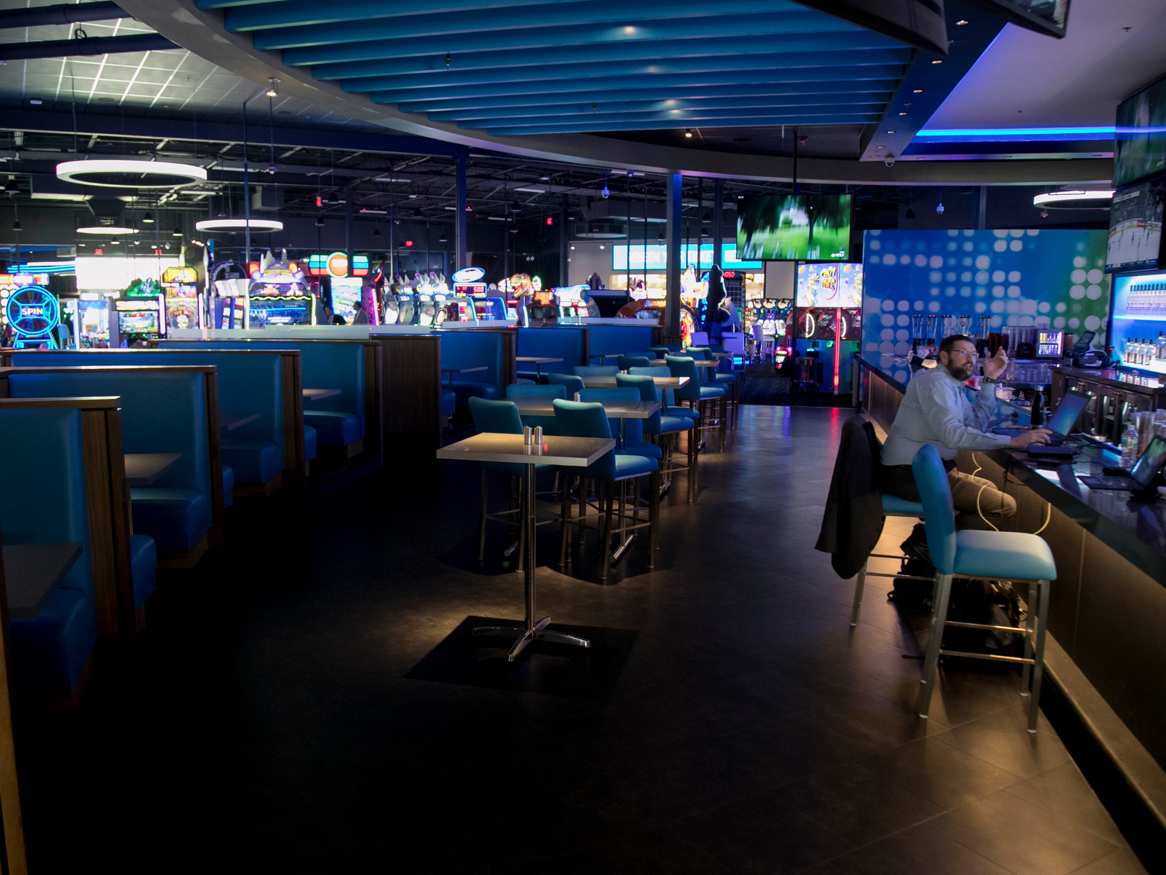 Dave & Buster's at Bell Tower Shops has 40,000 square feet of entertainment; chef-crafted food, inventive drinks, hundreds of the newest arcade games and state-of-the-art sports bar. They plan to open April 8th.