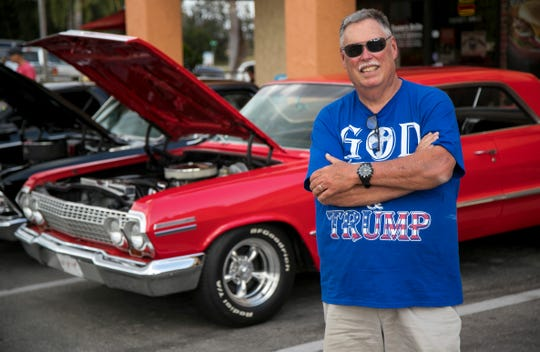 Ben Greene of Cape Coral attends the Hot Chili Rods Cruise-In each week with his '63 Chevy Impala SS 409.