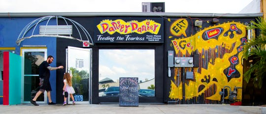 Danger Danger restaurant is located at 1017 (B) Cape Coral Parkway East in Cape Coral.