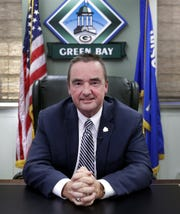 Jim Schmitt will leave office in April after 16 years as Green Bay mayor.