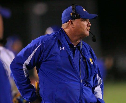 Wren coach Jeff Tate