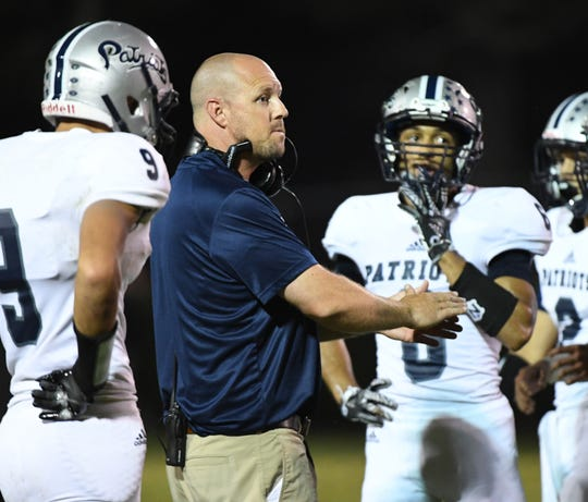 """Powdersville coach Robert Mustar says District 1's purchase of new helmets with technology that helps identify risky impact is """"huge"""" for the program."""