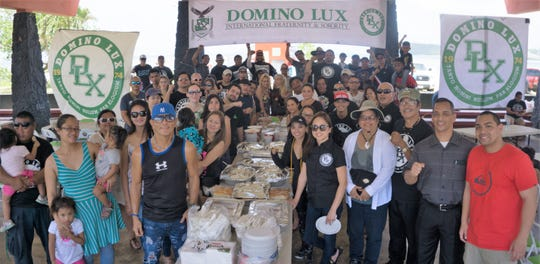 DOMINO LUX INTERNATIONAL, Guam Chapter celebrated family day with fun, games and entertainment on March 17 at Ypao Beach to promote its DLX international commitment to focus on the family and show that the whole world can progress together if it lives as one family.