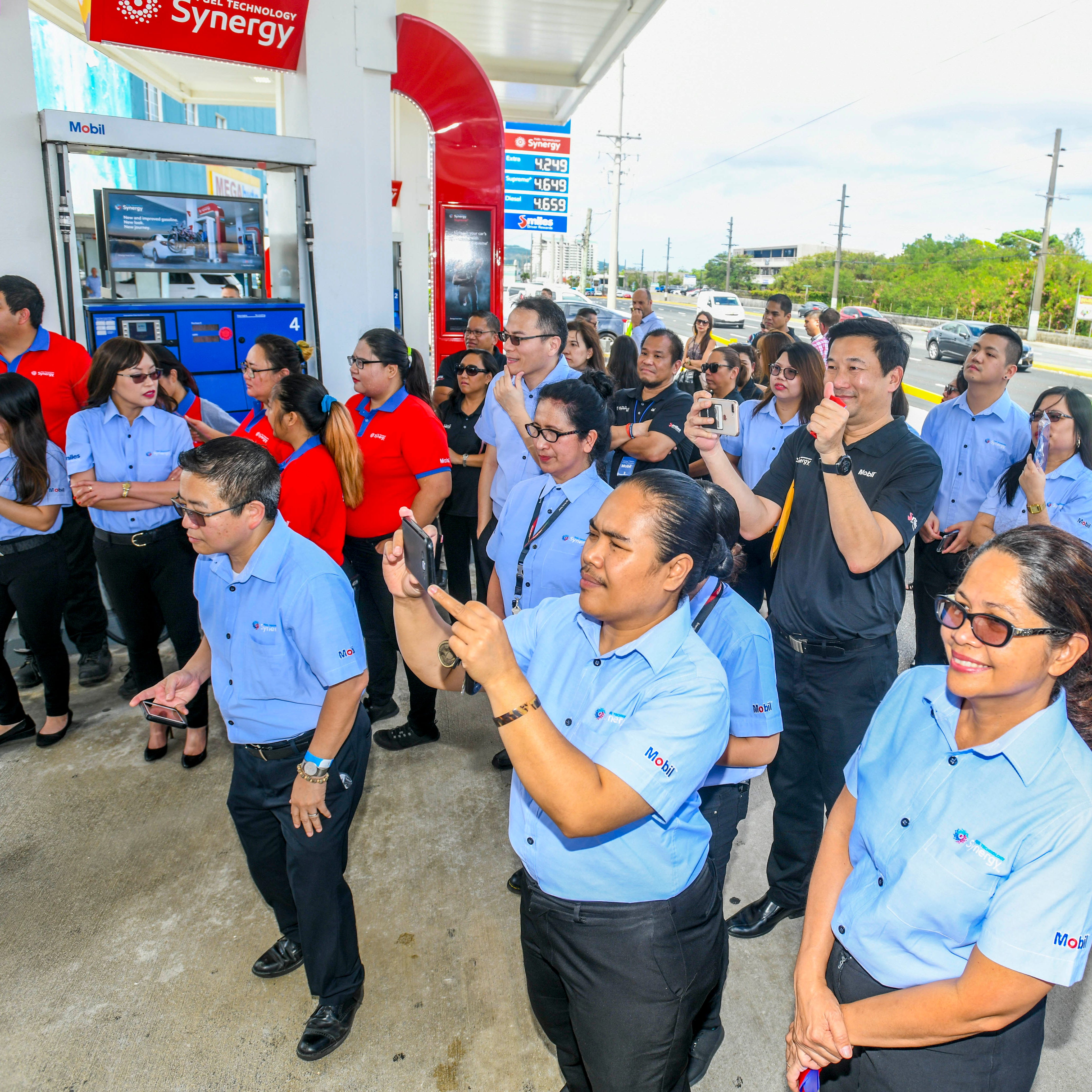 Mobil unveils upgraded station in Tamuning