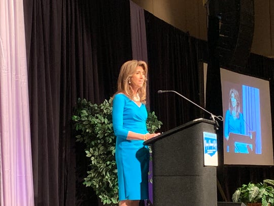Naval aviator and Southwest Airlines pilot Tammie Jo Shults talks about her experience as a woman in her field and about safely landing Flight 1380 after an engine exploded midair in 2018.
