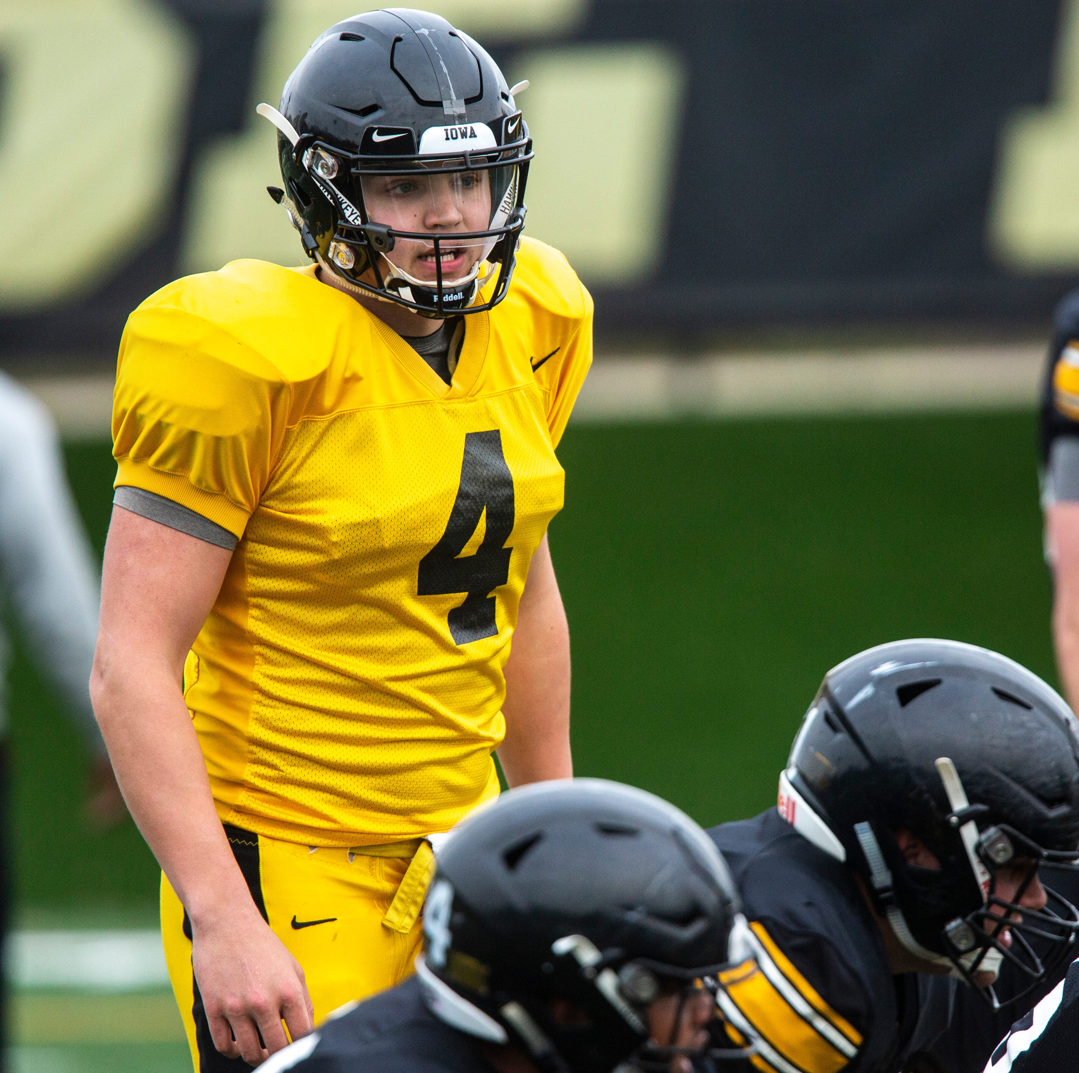 Leistikow: Evaluating Iowa's progress as spring football enters final week