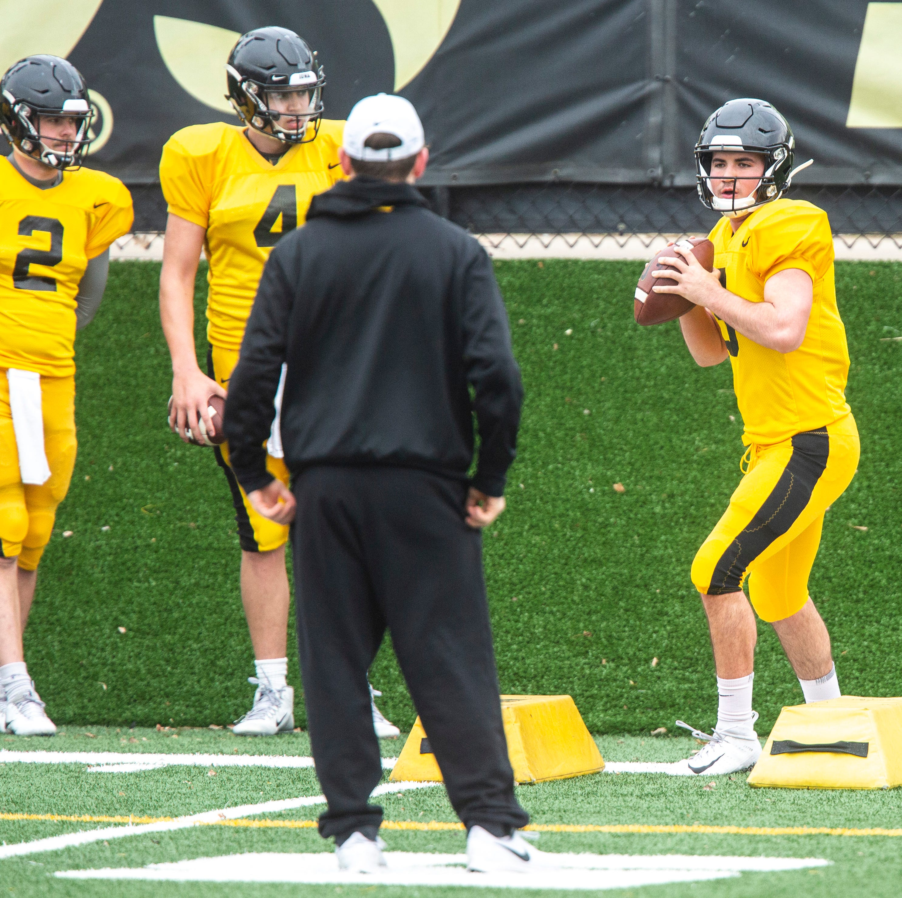 Leistikow: The complex challenge of becoming Iowa's quarterback of the future
