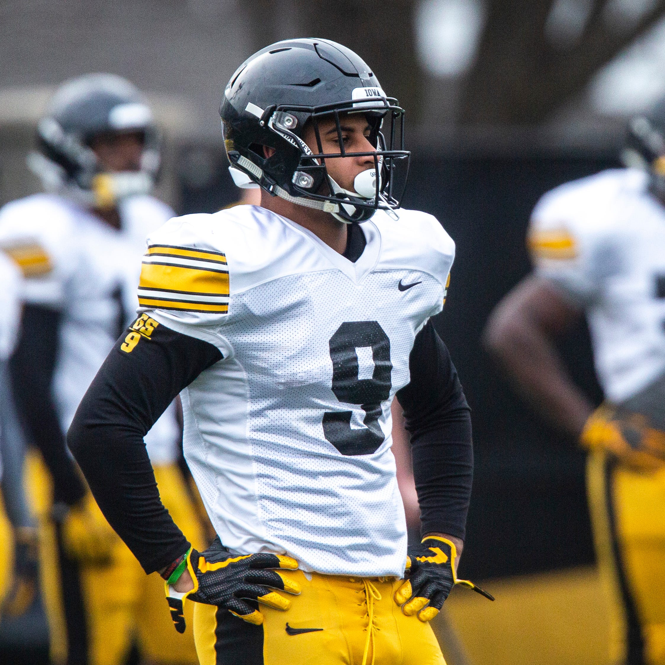 Geno Stone looks to make his mark as leader of retooled Iowa Hawkeye secondary