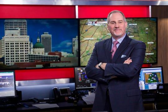 Fox 59 chief meteorologist Brian Wilkes