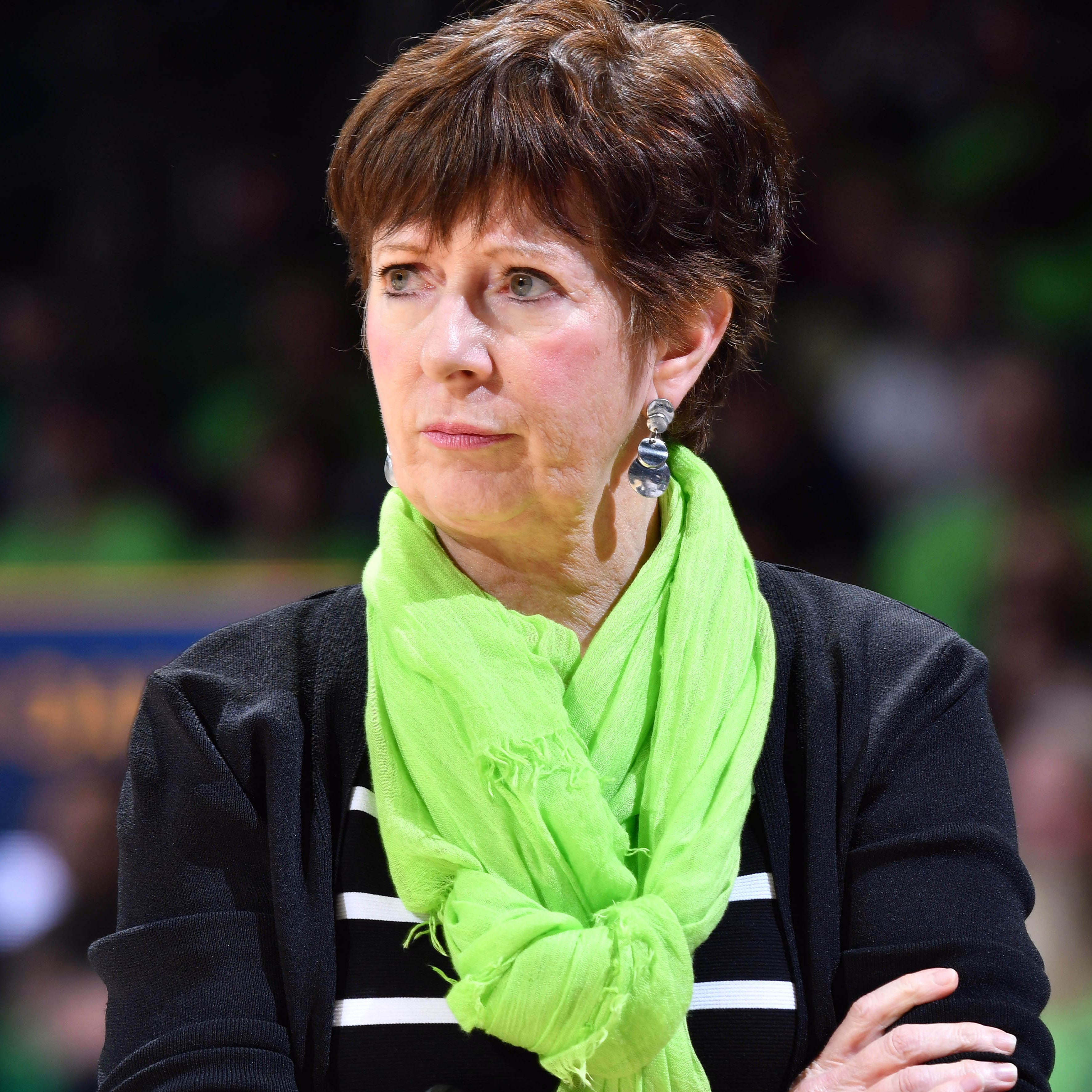 Notre Dame's Muffet McGraw delivers impassioned speech on gender inequality at Final Four