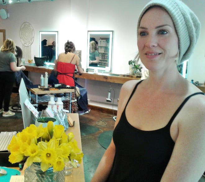 Owner Leah Ostby showed up on her day off at Haba Salon in Iowa City Tuesday, still dealing with complications from the theft of $25,000 in equipment earmarked for her new Hartwood Salon set to open soon in North Liberty.