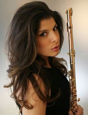 Flutist Nicole Esposito will perform a solo during the spring concert.