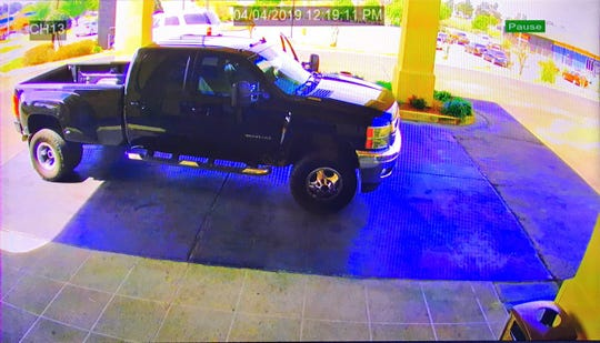 This truck belonged to the victim of a fatal shooting that happened in Jackson on Wednesday, April 3, 2019, police said. The truck was stolen by the shooters and later abandoned in west Jackson.