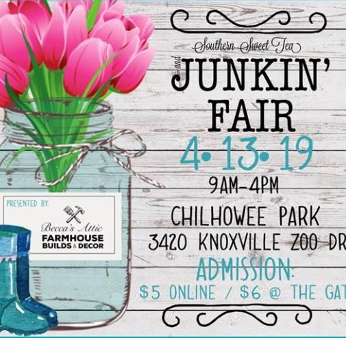 Free sweet tea goes to first 50 at Southern Sweet Tea and Junkin' Fair