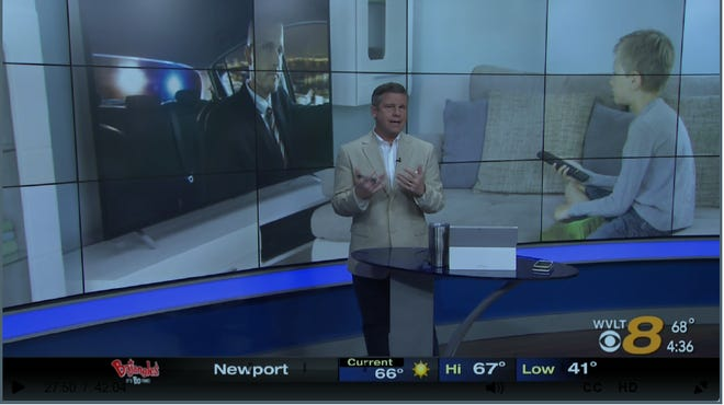 WVLT anchor Mark Packer apologized Wednesday afternoon for using an antisemitic slur on live TV.