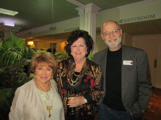 Tish Johnson, Mona Burris and Jonathan Kulp
