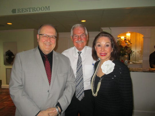 Shawn Roy, Mike Huber and Carolyn French