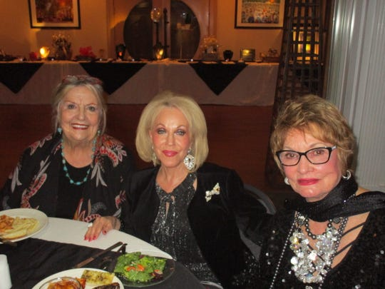 Sally Burdette, Judy Thomas and Judy Dunn