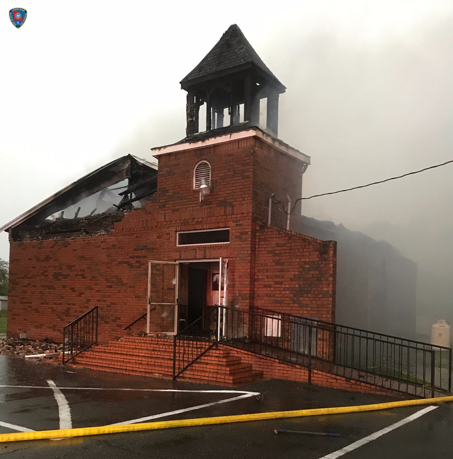 Third fire at a church reported in St. Landry Parish