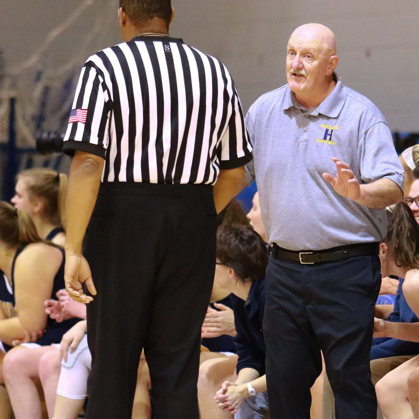 Hartland's Don Palmer named AP Division 1 girls basketball Coach of the Year