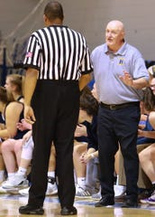 Don Palmer has coached Hartland to three girls basketball state quarterfinals in five years.