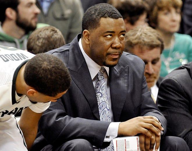 Michigan State associate head basketball coach Dwayne Stephens.