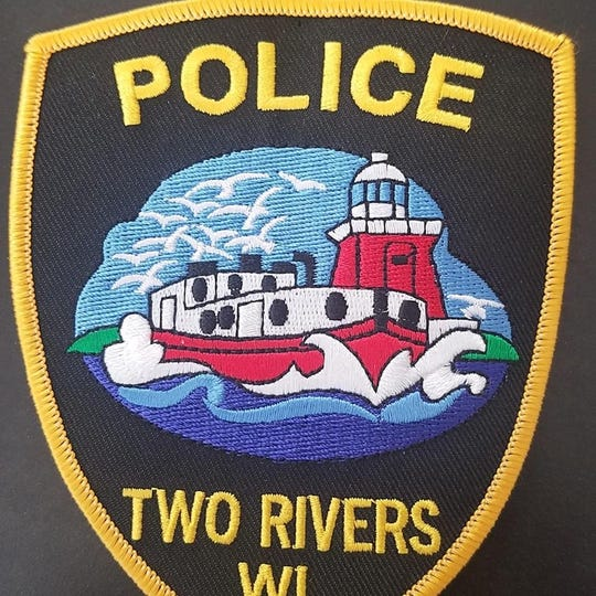 Two Rivers Police Department badge