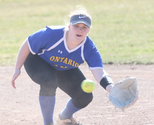Ontario's Laney Grimwood has the Lady Warriors at 11-1 on the year and poised to make a run back to the top of the Richland County Softball Power Poll.