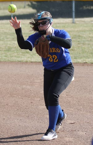 Ontario's Natalie Link spearheads a dominant Lady Warrior offense to a 10-0 record and a No. 1 ranking in the Richland County Softball Power Poll.