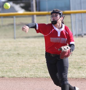 Shelby's Sadie Smith brings back a big bat after clubbing seven home runs last season.