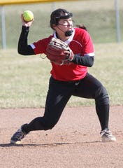 Shelby freshman Sadie Smith is hitting the cover off the ball with five home runs already this season. She has her Lady Whippets at No. 8 in this week's power poll.