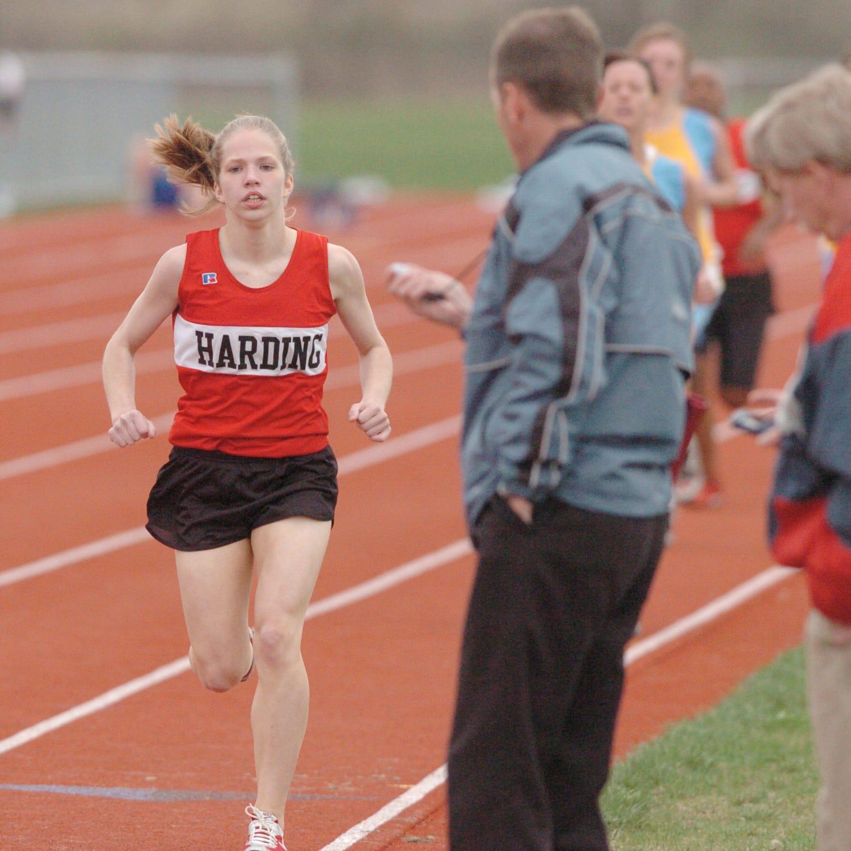 Harding HOF: Taylor McCurdy school's top girls distance runner
