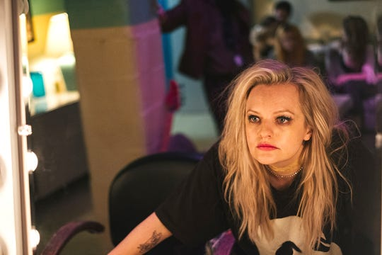 """Elisabeth Moss goes just about mad, man, in """"Her Smell,"""" which screens April 17 at the Ridgeway."""