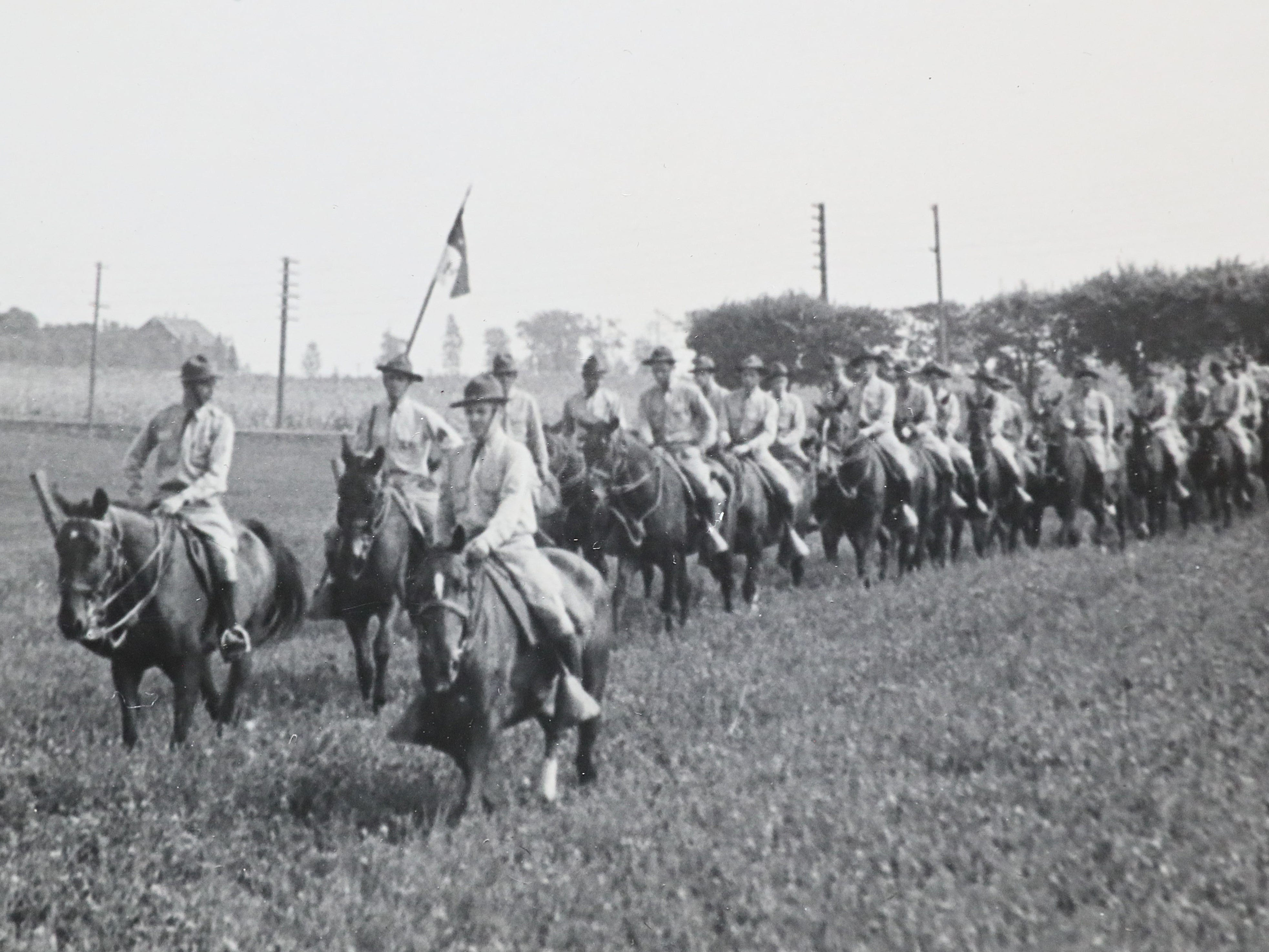 A photo of the 105th Cavalry taken by Jake Skocir.