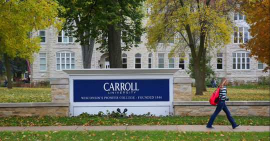 Carroll University received a $100,000 grant to explore digital learning platforms.
