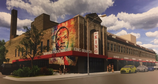 A proposal has been dropped to convert the historic former Garfield Theatre into the King Library branch, apartments and commercial space.