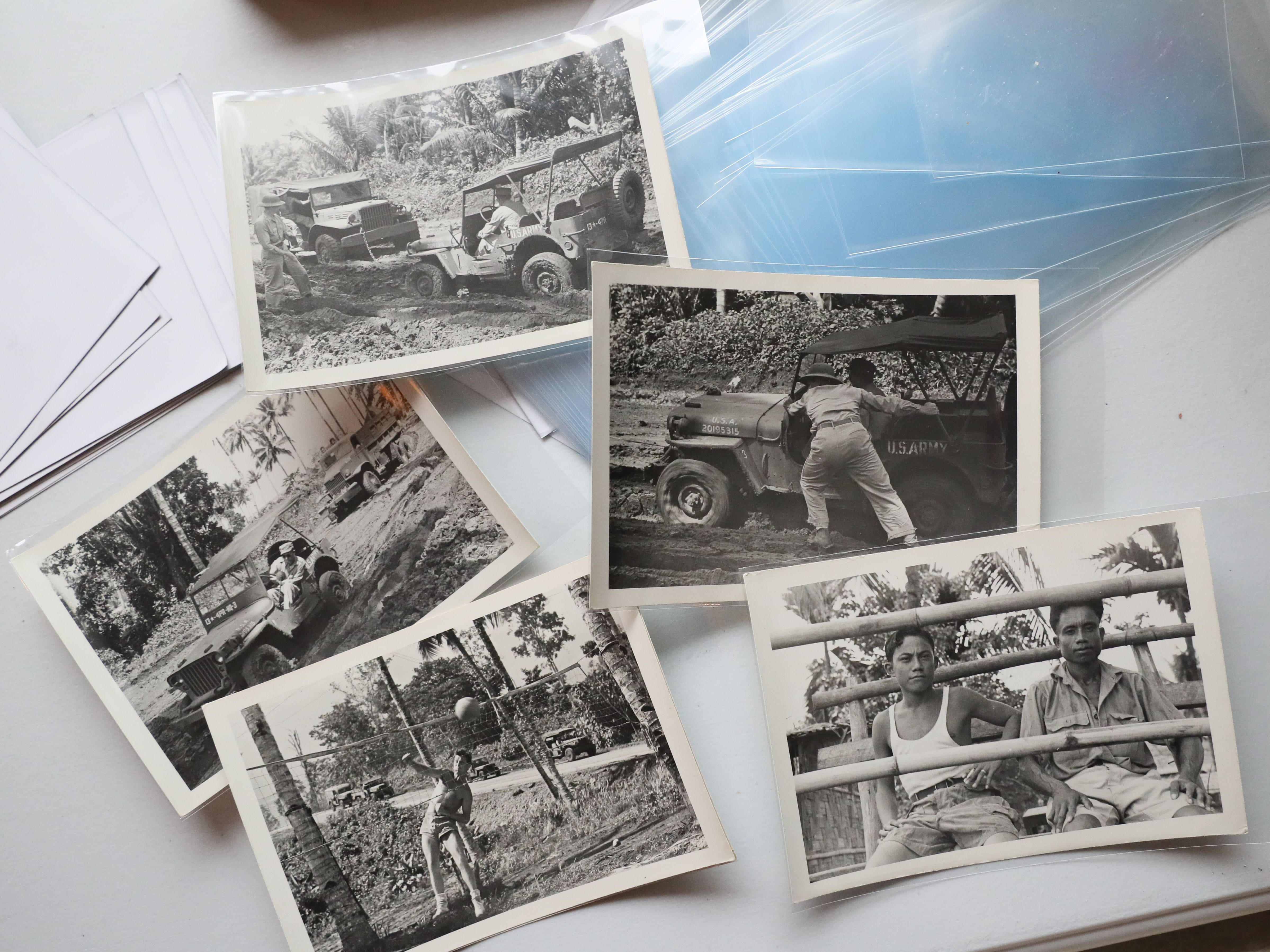 Photographs Jake Skocir took while in the Pacific during World War II.