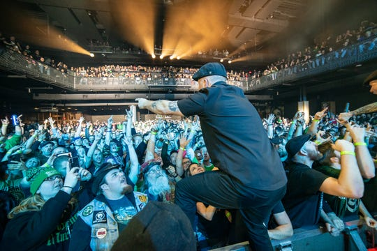 Celtic punk band Dropkick Murphys performs at the Sylvee, a new, built-from-scratch venue that opened in Madison in late September. Owned and operated by Madison-based promoter FPC Live, the venue sold 33,184 tickets last year, and is on track to host around 75 events for its first full year of operation